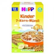 Hipp 喜宝 Bio儿童7种谷物香蕉麦片(1岁+) 200g×6盒137.32元