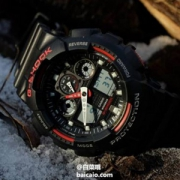 Casio 卡西欧 G-Shock系列 GA-100-1A4ER 双显运动手表