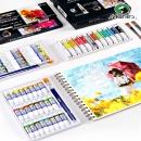 Marie's 马利 水粉画颜料 5ml*12色 送绘画10件套 11.7元包邮(需用券)¥12