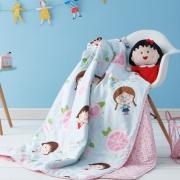 Dohia 多喜爱 樱桃小丸子系列 全棉空调被 152*218cm 夏天盖着这款被子,感觉梦都是甜的~