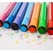 TRUECOLOR 真彩 儿童印章水彩笔 18色 3.9元包邮(需用券)