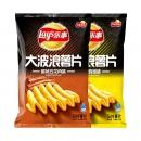 88VIP:Lay's 乐事 大波浪薯片鸡翅 70g+五花肉味70g *10件 56.5元(双重优惠)¥57