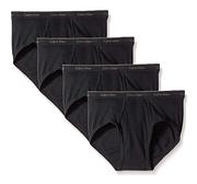 Calvin Klein 卡尔文·克莱 男士全棉内裤 4条装 M码prime会员120.47元包税