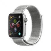 Apple Watch Series 4苹果智能手表(GPS款 44毫米银色铝金属表壳 海贝色回环式运动表带 MU6C2CH/A) 3188元包邮