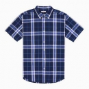 INTERIGHT 男士全棉短袖衬衫 2件39元(合19.5元/件)