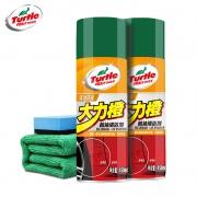 Turtle/龟牌大力橙柏油清洁剂450ml 海绵擦 9.9元