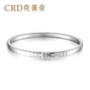 CRD克徕帝Pt950铂金小方格手镯9.9g2663元包邮(双重优惠)