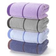 4条装毛巾纯棉洗脸家用全棉¥20
