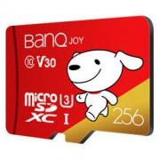 12日0点: BanQ U3 Class10 A1 V30 TF存储卡 256GB 165元包邮