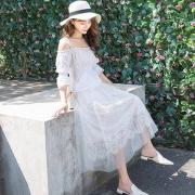 佐蕾娜 女士纱网半身裙 中长款18.8元包邮(需用券)