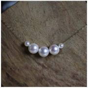 Pearlyuumi Akoya K18金 海水珍珠项链 8-8.5mm 899元包邮(需用券)