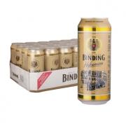 BINDING 冰顶 白啤酒 500ml*24听 *3件 229.9元包邮(双重优惠)¥230