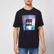 19新款,HUGO BOSS 雨果·博斯 Dunderground 印花图案纯棉短袖T恤