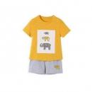CLASSICTEDDY精典泰迪儿童短袖套装*2件39.9元包邮(需用券,合19.95元/件)