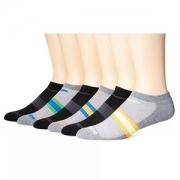 PRIMEDAY特价,Saucony 圣康尼 男式舒适贴身隐形袜 6双装