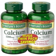Nature's Bounty 自然之宝 液体钙+VD软胶囊1200mg*120粒*2瓶