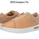 ECCO爱步 Corksphere 1 Tie 女款休闲鞋56美元约¥385(原价160美元)
