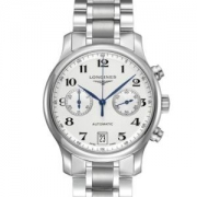历史低价:LONGINES浪琴Master名匠L2.669.4.78.6男士机械腕表