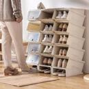 BELO百露组合式鞋盒收纳架10个*3件341.5元包邮(需用券,合113.83元/件)