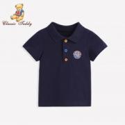 CLASSIC TEDDY 精典泰迪 儿童polo衫 24.5元包邮(1件5折)24.5元包邮(1件5折)