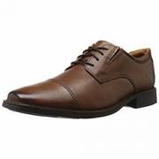中亚Prime会员:Clarks Tilden Cap 男士休闲皮鞋 313.74元+37.61元含税包邮约351元
