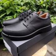 PrimeDay特价,ECCO 爱步 Fusion融合系列 男士真皮系带休闲鞋 43码
