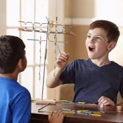 PrimeDay特价,Melissa&Doug 梅丽莎和豆豆 亲子益智平衡游戏 悬挂游戏(31根)