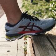 ASICS 亚瑟士 GEL-KAYANO 26 男子跑鞋体验分享