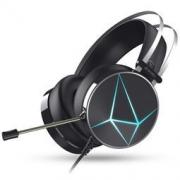 DARE-U 达尔优 EH722 电竞版 头戴式游戏耳机 冰蓝色 3.5mm+USB 129元包邮