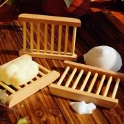 Neyankex 木质肥皂托盘 四个装 10.5元包邮(需用券)¥11