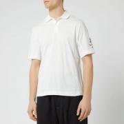 19新款,Y-3 男士经典款纯棉短袖POLO衫