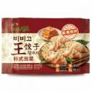 bibigo 必品阁 韩式泡菜王饺子 490g *16件 138.8元包邮8.68元/件(双重优惠)