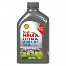 Shell 壳牌 Helix Ultra 超凡喜力 全合成机油 中超限量版 5W-30 SL级 1L*4瓶 ¥210包邮52.5元/瓶(下单立减)