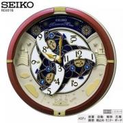SEIKO 精工 RE601B 光感电波 音乐挂钟