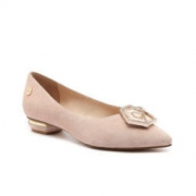 DK Sheepskin DK611 女士低跟鞋 Nude 229元包邮(需用券)229元包邮(需用券)