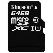 Kingston 金士顿 Class10 UHS-I 64GB TF储存卡 49.9元