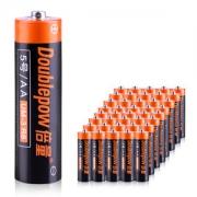 倍量 5号电池碳性电池40节 11.9元包邮 历史低价 0.3元一节