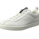 ECCO 爱步 Soft 1 女款真皮运动鞋prime会员直邮含税到手约432.66元(专柜1000+)