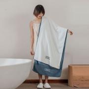 AOKEE A类刺绣吸水日系大浴巾 18.9元包邮