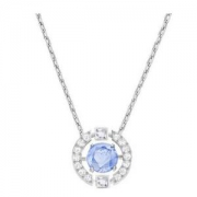 SWAROVSKI施华洛世奇SparklingDanceRound5279425跳动的心项链蓝色488元包税包邮(下单立减)
