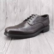 限39码,GEOX 健乐士 U Dublin 男士布洛克商务皮鞋 U34R2B