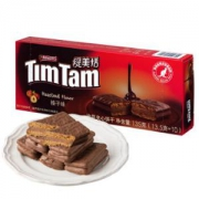 Timtam缇美恬榛子味涂层夹心饼干135g15.9元,可优惠至8.21元