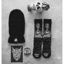 Stance 546系列街头潮流骷髅图案袜子M546C18REG-BLK 立减4,到手只需125