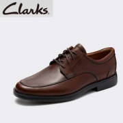 PrimeDay特价,Clarks 其乐 Un高端系列 Aldric Park 男士真皮休闲皮鞋新低169.96元(单件免邮)