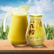 几粒 鲜玉米汁谷物健康饮料 235ml*6瓶 29.9元包邮 重回历史低价 折合5元一瓶