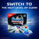 PrimeDay、17效合一、最顶级产品:82块  Finish 亮碟 Quantum系列 洗碗机洗涤块80.51元