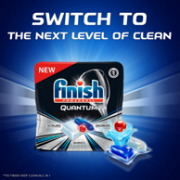 PrimeDay、17效合一、最顶级产品:82块  Finish 亮碟 Quantum系列 洗碗机洗涤块