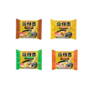 【公仔旗舰店】品牌速食方便面4包¥10