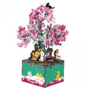 Robotime 若态 樱花树下八音盒