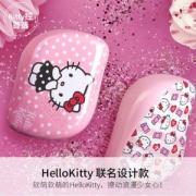 TANGLE TEEZER Hello Kitty粉色波点款 豪华便携美发梳